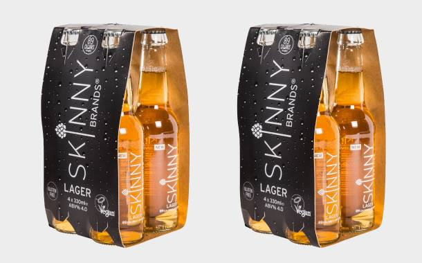 Skinny Brands launches a new vegan-friendly, low-calorie lager