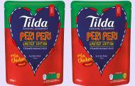 Rice brand Tilda launches limited-edition Peri Peri basmati rice