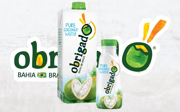 Brazilian coconut water brand Obrigado expands to Europe