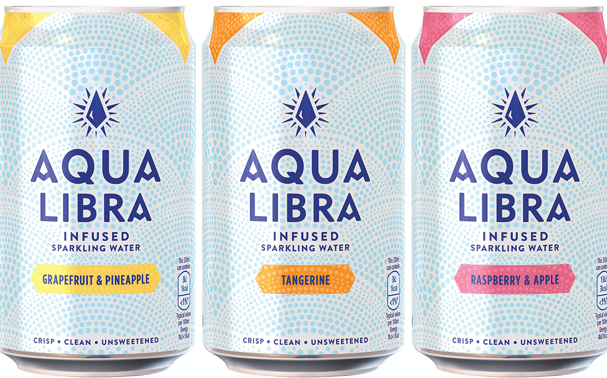 Britvic unveils three-strong line of Aqua Libra sparkling waters