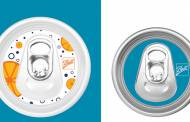 Ball Corporation's new aluminium cans allow for branding on lids