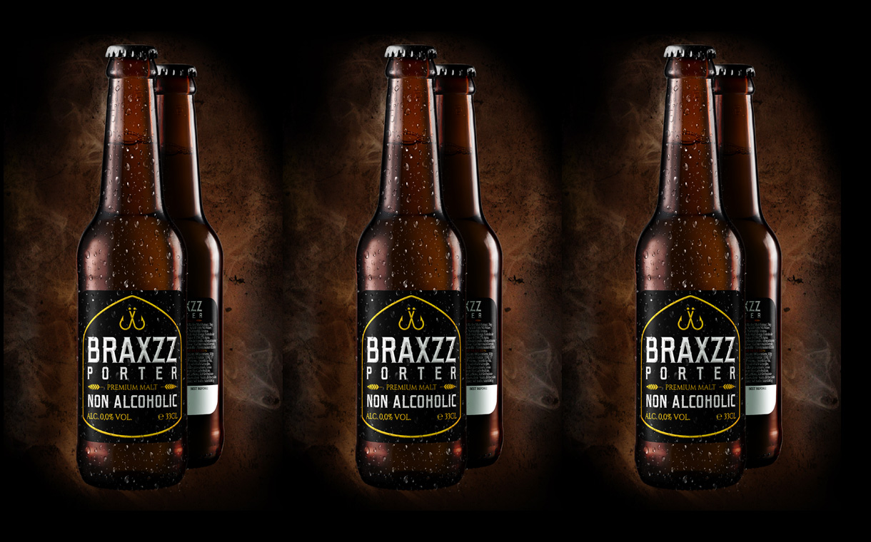 Braxzz releases the 'world's first' non-alcoholic porter