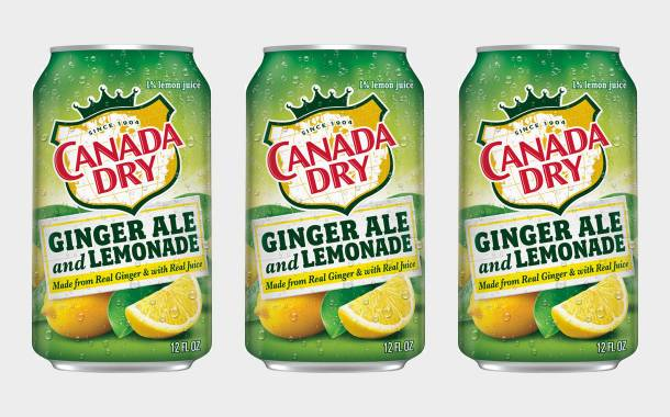 Dr Pepper's Canada Dry unveils new Ginger Ale and Lemonade drink