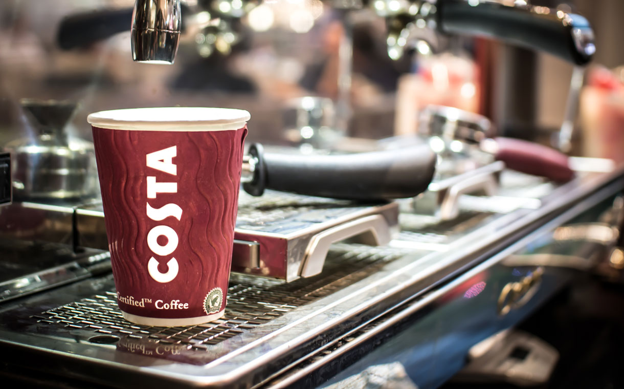 Costa pledges to recycle half a billion disposable cups a year