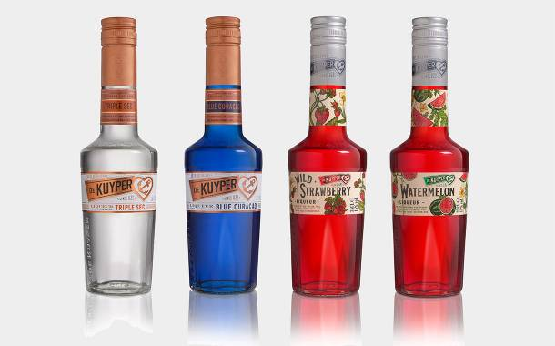 De Kuyper unveils packaging redesign for its its range of spirits