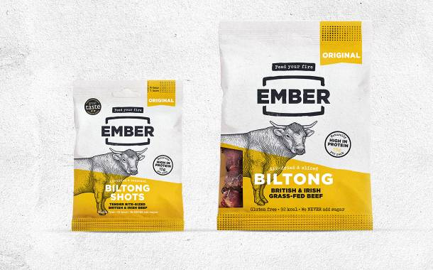 Ember releases two high-protein biltong snacks for the UK market