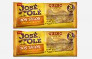 Ajinomoto's José Olé brand releases new Rolled Taco packs