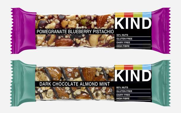 Kind introduces two new snack bars for the UK market