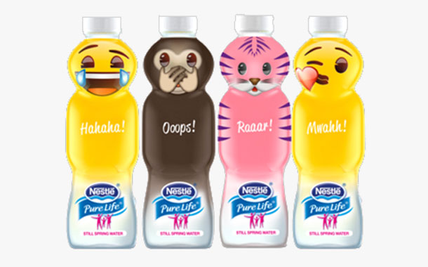Nestlé Waters UK creates 'emoji' inspired water bottles - FoodBev Media