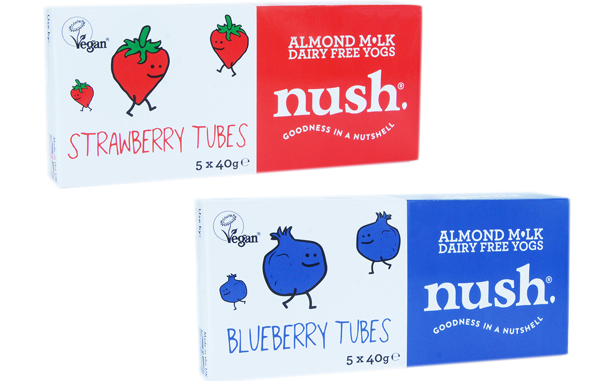 Nush enters on-the-go category with new dairy-free yogurt tubes