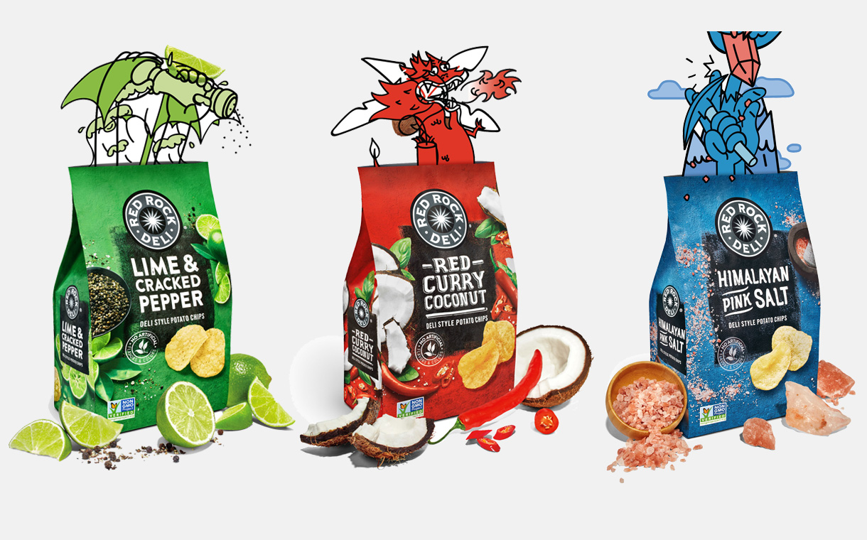 PepsiCo to introduce Red Rock Deli potato chips to the US - FoodBev