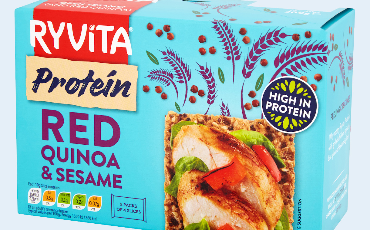 Ryvita launches new snacking lines in response to protein trend