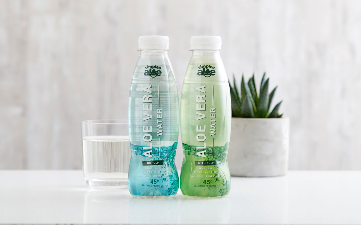 Simplee Aloe launches two low-sugar aloe vera waters in the UK