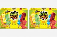Mondelēz and J&J Snack Foods unveil Sour Patch Kids ice lollies