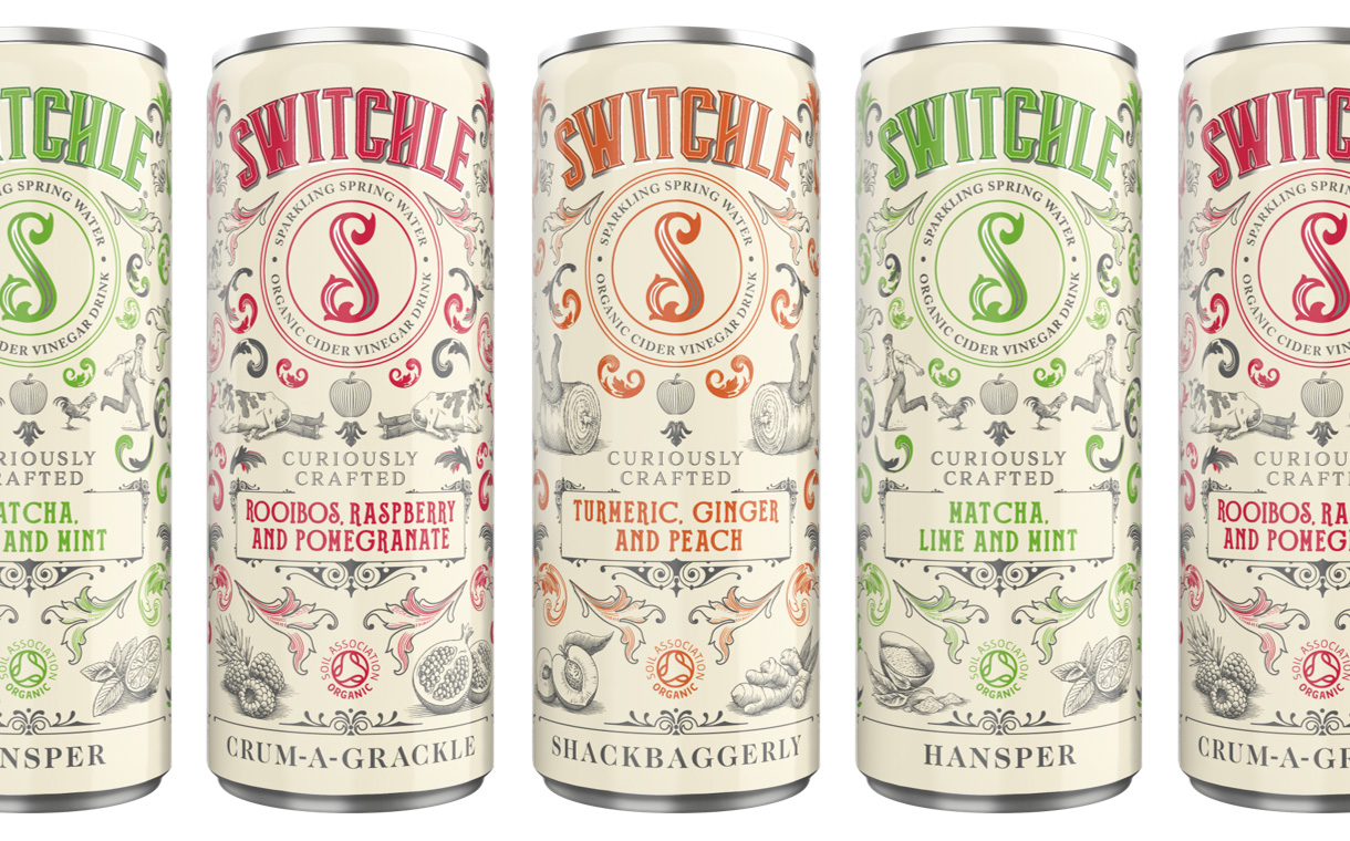 Switchle range of fermented soft drinks for adults launches in UK