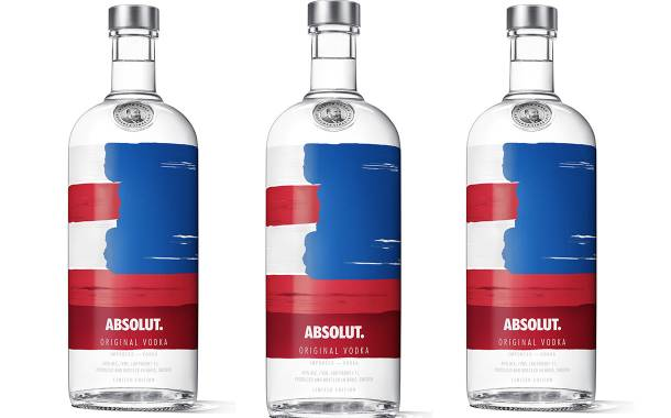 Pernod Ricard launches limited-edition Absolut America bottle