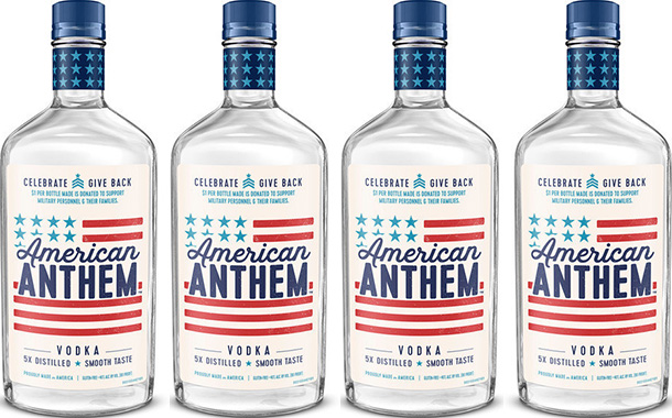 Diageo supports US military with new American Anthem vodka