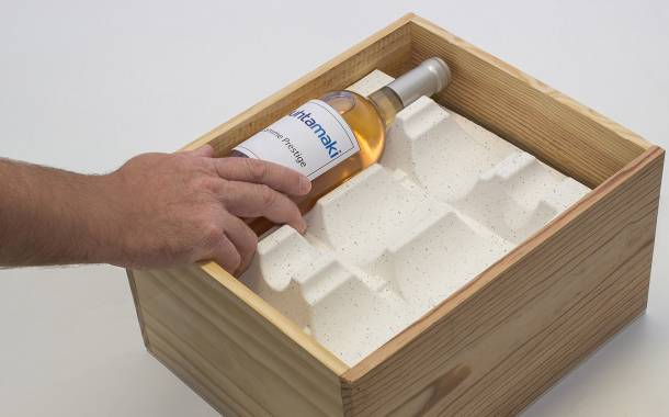 Huhtamaki unveils wine bottle dividers made from vine shoots