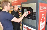 Iceland reverse vending machine pays customers to return bottles