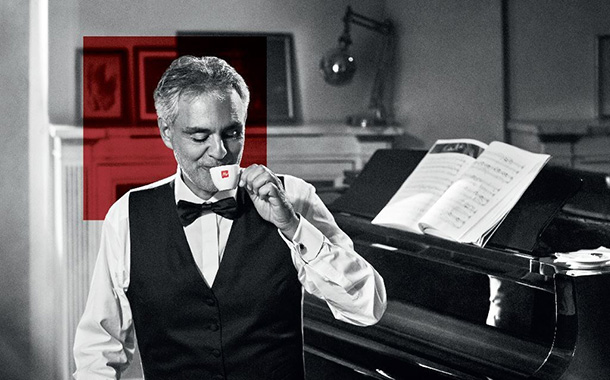 Illy partners with Andrea Bocelli for new US advertising campaign