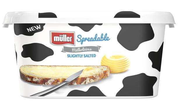 Müller releases its first branded butter spread in the UK