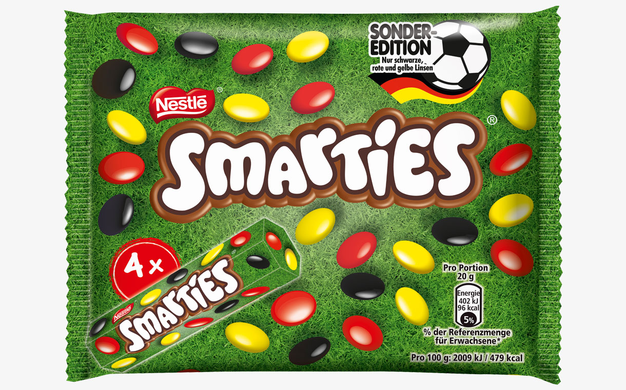 Nestlé to release limited-edition World Cup Smarties in Germany