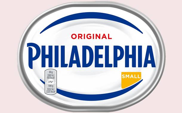 Mondelēz unveils new packaging for its Philadelphia cream cheese