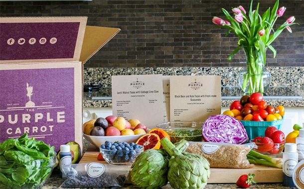 Meal kit company Purple Carrot bought by Japanese online grocer