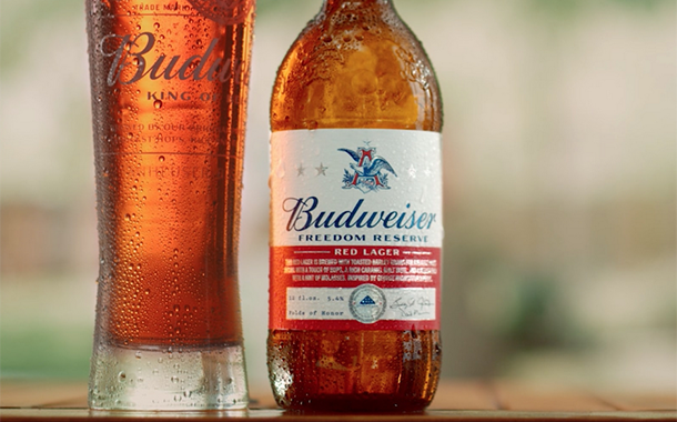 Budweiser launches red lager in support of US war veterans