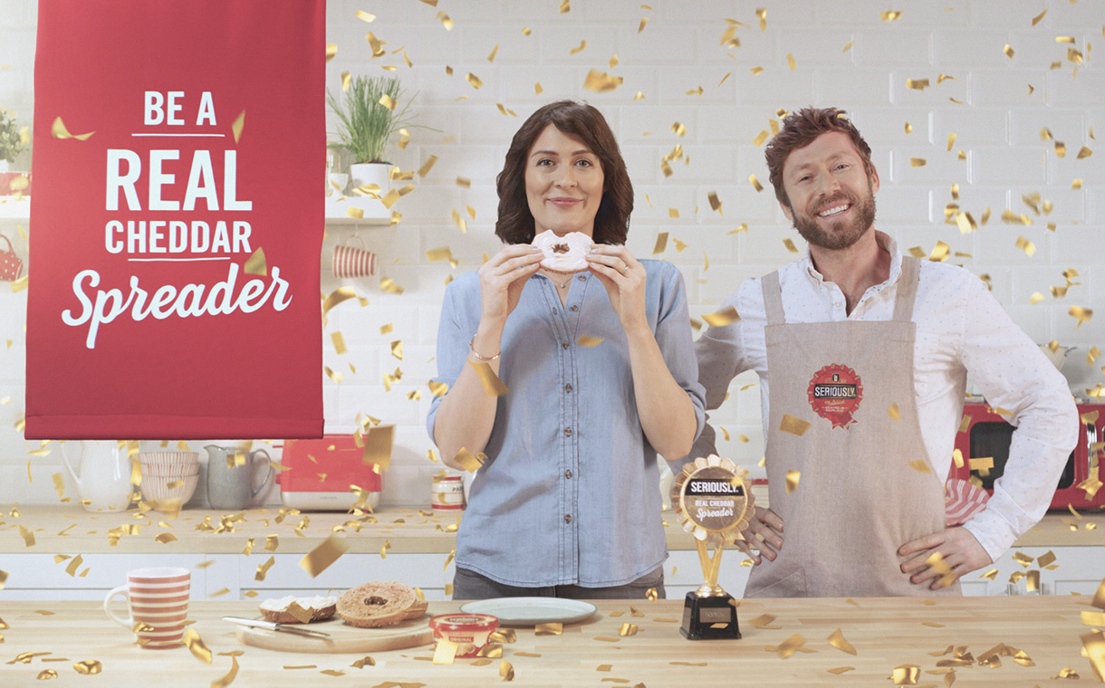 Lactalis McLelland's Seriously Spreadable launches TV campaign