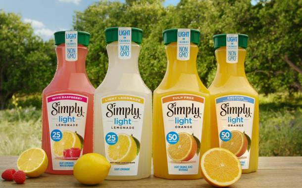 Coca-Cola's Simply brand launches new light juice range