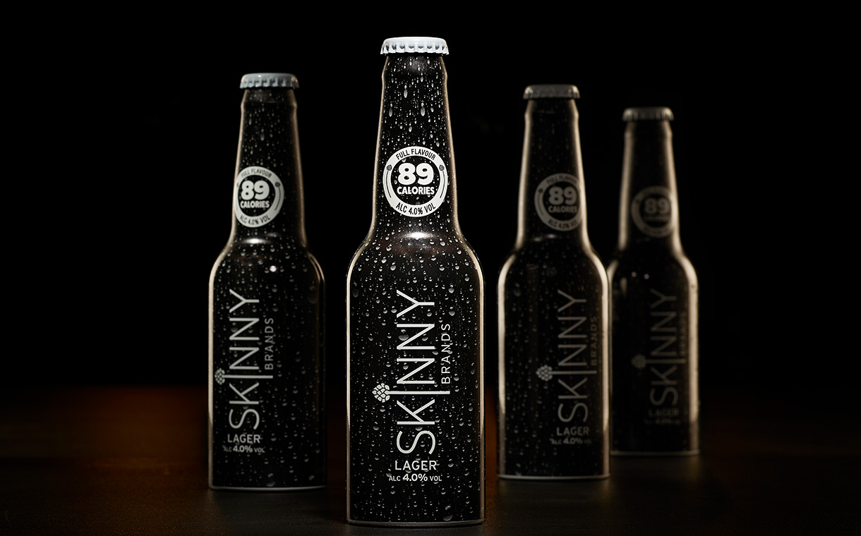 Skinny Brands to serve its lager in aluminium bottles at festivals