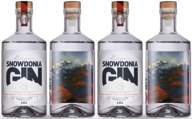 The Label Makers creates label for Snowdonia Spirit Company