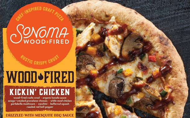 Jane's Dough Foods debuts oven-ready Sonoma Woodfired pizzas