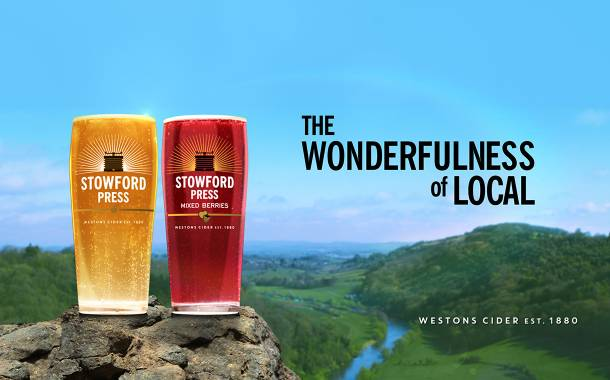 Westons Cider launches new ad campaign for Stowford Press