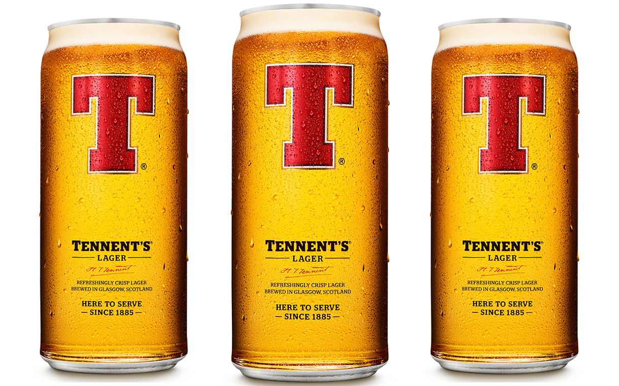 C&C Group introduces new can design for its Tennent's Lager
