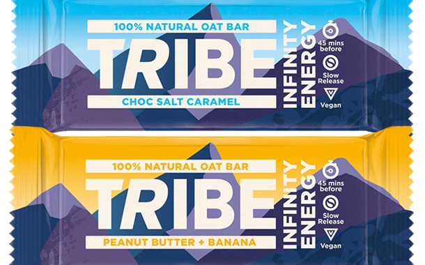 Tribe unveils new brand identity and recipes for its energy bars