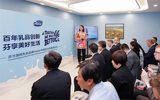 Valio targets growth in China with new country head office