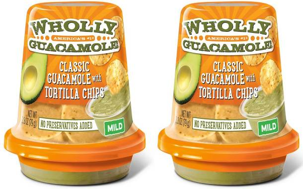 MegaMex launches single-serve Wholly Guacamole Snack Cups