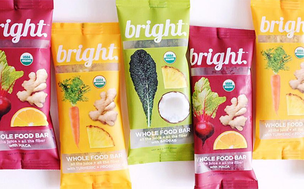 Bright Foods launches chilled line of fruit, nut and vegetable bars