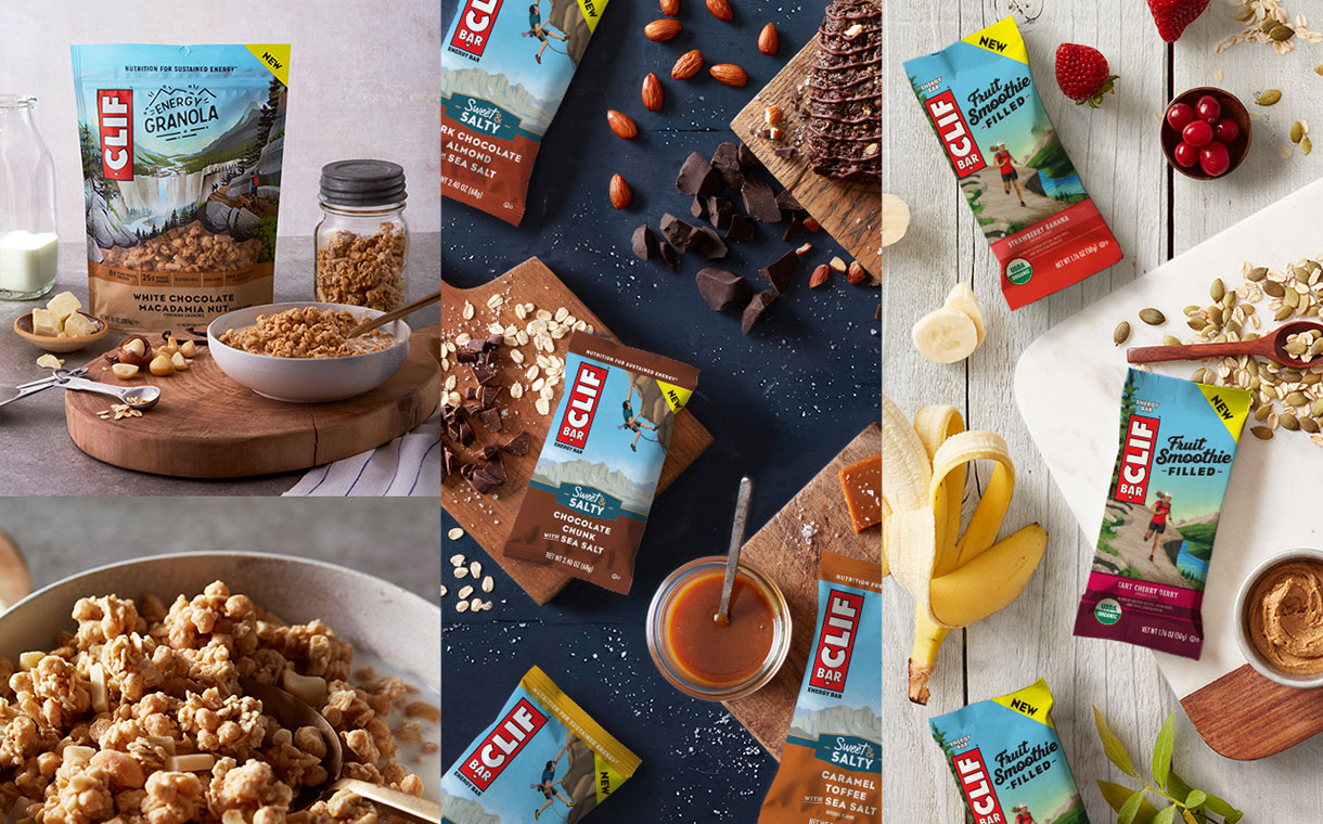 Clif Bar introduces three new energy snack products