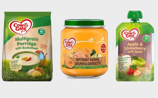 Danone's Cow & Gate brand releases 15 new products