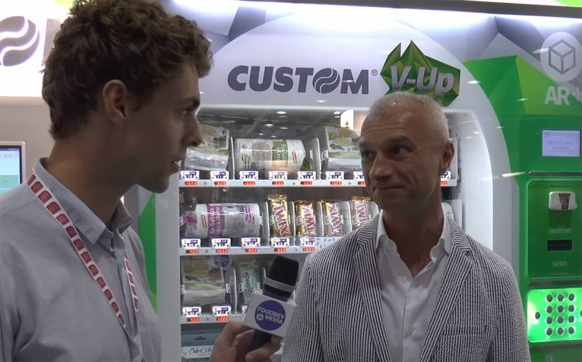 Interview: Custom's V-Up vending solution lists product information