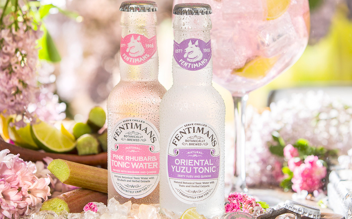 Fentimans unveils pink rhubarb and oriental yuzu tonic waters