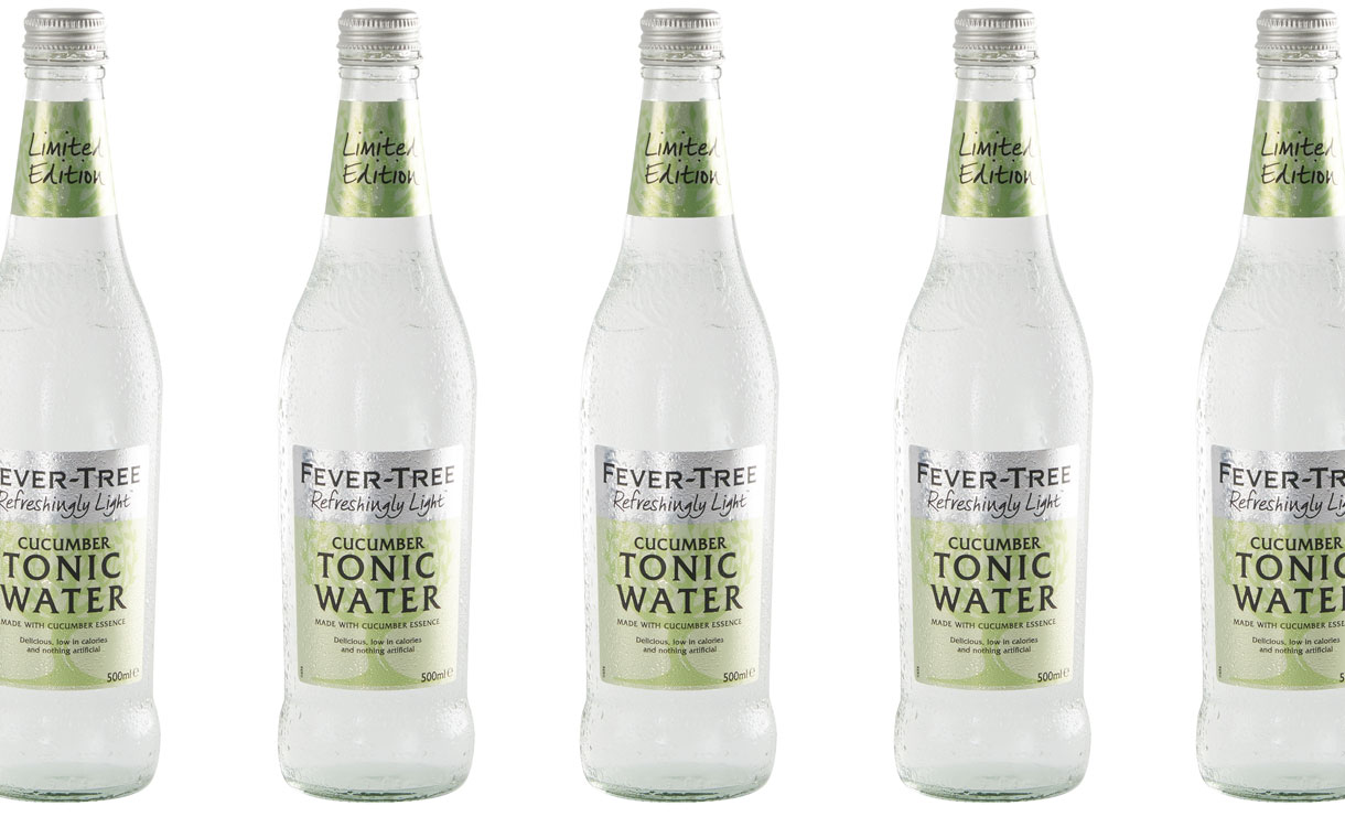 Fever-Tree releases limited-edition cucumber tonic water