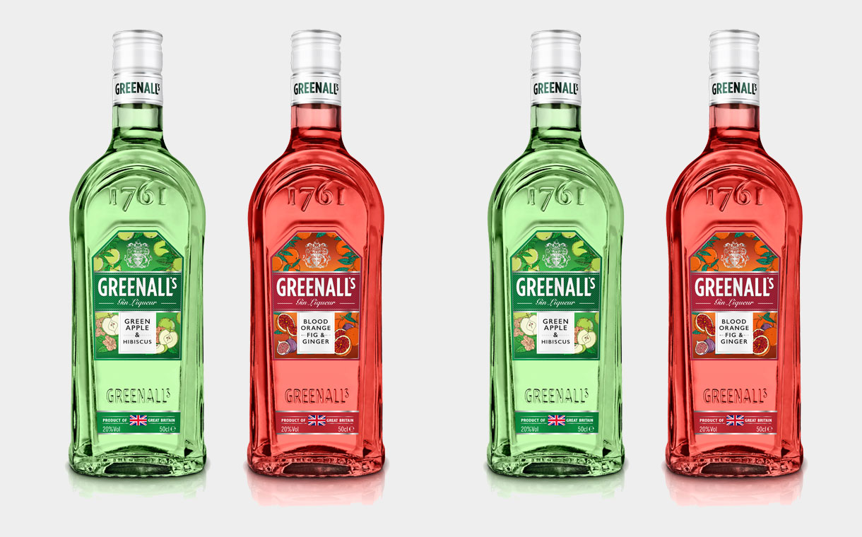Greenall's Gin releases two new fruit flavoured gin liqueurs