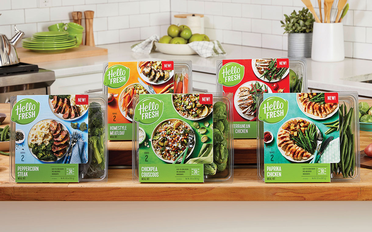 HelloFresh releases its first retail product range in the US