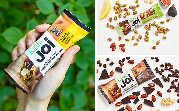 Kashi releases two new nut-based snack bars in Canada