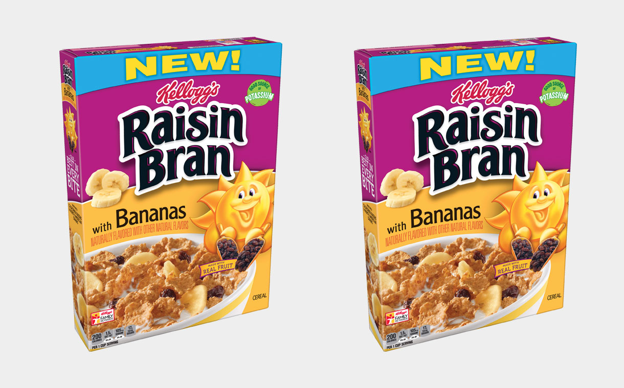 Kellogg's expands Raisin Bran range with new banana cereal