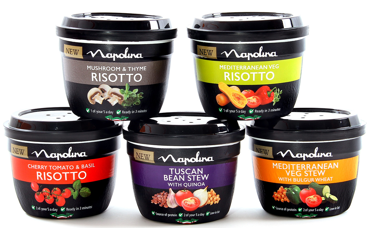 Napolina introduces two new ranges for the hot snacks sector